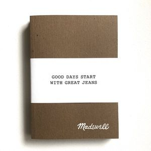 NWT Madewell Icon Exclusive Notebook Set